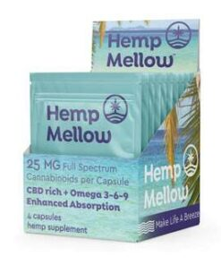 Hemp Mellow Open Countertop Sample Pack Display BoxHemp Mellow Sample Pack Countertop Dispenser Display BoxStacked Hemp Mellow Countertop Sample Pack Display Boxes Hemp Mellow - Sample Packet Countertop Display - 12x
